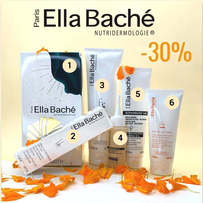 """Каждый месяц у нас (совместно с официальным представительством Ella Bache в России) проходит популярная акция """"минус 30%"""". В этом месяце мы снизили цены на 30% на следующие продукты:"""
